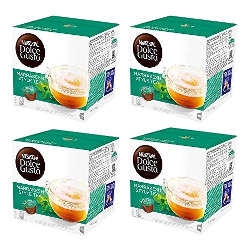 Nescafe Dolce Gusto Marrakesh Style Tea 4x16 Pods (64 Capsules)