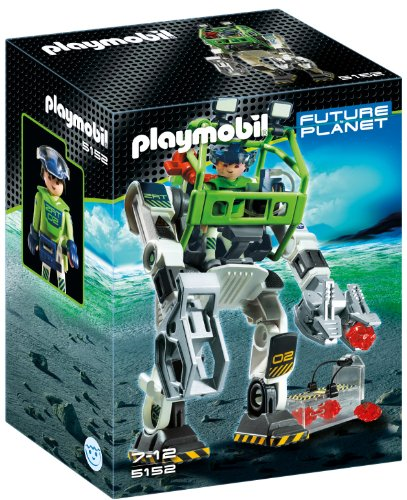 PLAYMOBIL E-Rangers Collectobot Construction Set (Playmobil Robot compare prices)