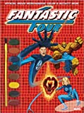 Fantastic 4 Color & Activity Book with Paints