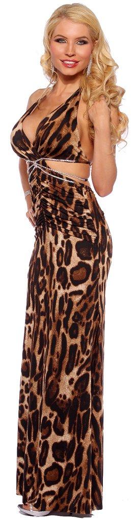Женская одежда и Аксессуары Designer Womens Sexy Long Halter Rhinestone Formal Evening Party Gown
