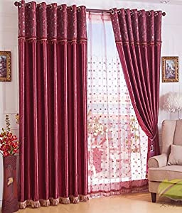 Red blackout curtains amazon - Amazon curtains living room ...