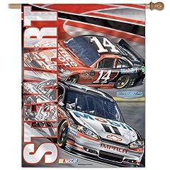 Tony Stewart Banner vertical flag 27 x 37 by NASCAR