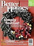 Better Homes and Gardens [US] December 2010 (単号)