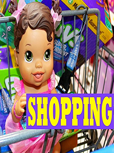 Baby Alive GOES SHOPPING Baby Alive Doll Buys Diapers Baby Food Toys Clothes & Eats Ice Cream