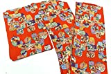 【5470-05488】12月12日号 正絹 縮緬 小紋 こもん 着物 はぎれ を使って リメイク、裂き織り、つるし雛、リフォーム等の、和柄の素材としてどうぞ 着用を想定した販売ではありません(SEN) 表地比較的良好