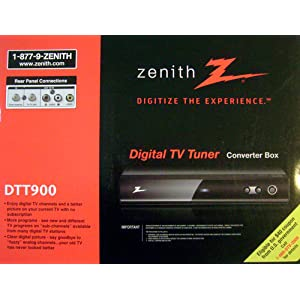 Zenith Digital Tuner Tv