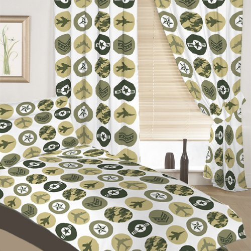 Shopisfy Single Children's Duvet Cover Set Camouflage Army