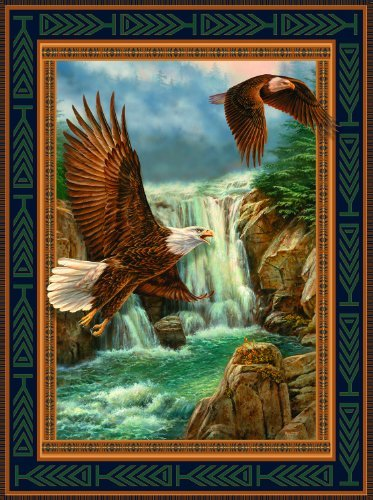 Cheap SunsOut Bald Eagle Cameos 1000pc Jigsaw Puzzle by Rosemary Millette (B004HSDMF6)