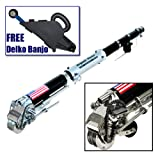 Drywall Master King Automatic Taper Drywall Taping Tool PLUS FREE Delko Taping Banjo with Inside Corner Creaser Wheel