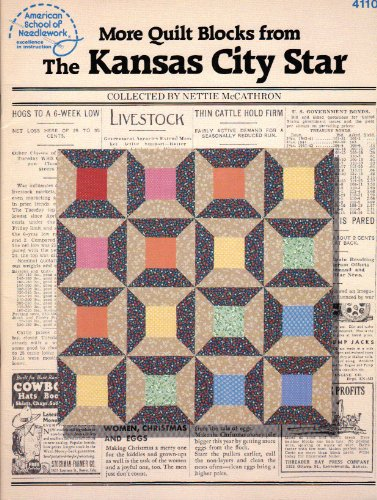 More Quilt Blocks from the Kansas City Star (American School of Needlework)