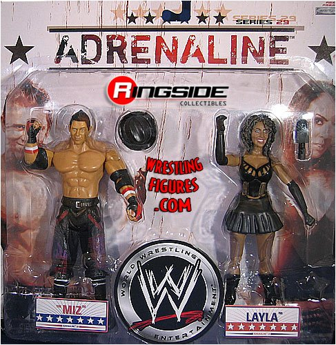 Buy Low Price Jakks Pacific WWE Wrestling Adrenaline Series 29 Action Figure 2-Pack Miz & Layla (B001716ZQY)