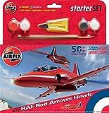 Airfix RAF Arrows Hawk 50th Display Season Starter Set 1:72 Model Kit (Red)