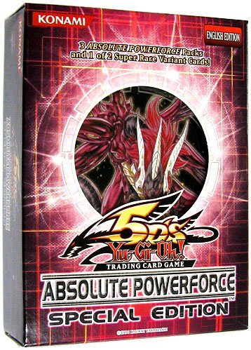YuGiOh 5D's Absolute Powerforce SE Special Edition Pack Random Promo Card - 1