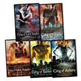 Cassandra Clare Cassandra Clare Mortal Instruments 5 Books Collection Pack Set RRP: £42.95 (City of Bones Book 1, City of Ashes Book 2, City of Glass Book 3, City of Fallen Angels Book 4, City of Lost Souls Book 5)