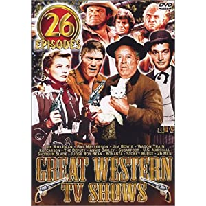 Great Western TV Shows: The Rifleman/Bat Masterson/Jim Bowie/Annie Oakley/Kit Carson/The Deputy/Sug movie