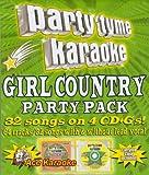 echange, troc Karaoke - Party Tyme Karaoke: Girl Country Party Pack