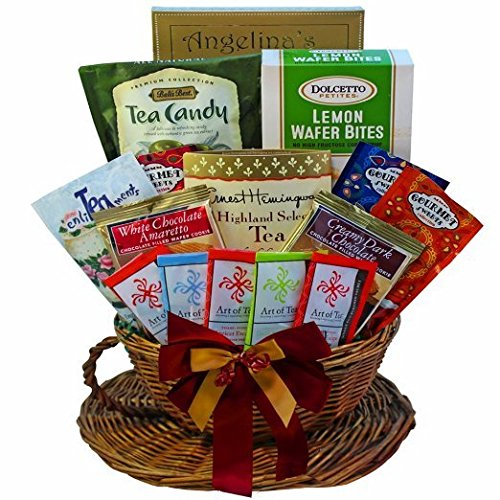 Art of Appreciation Gift Baskets You're My Cup of Tea and Treats Gift Basket (Chocolate And Tea Gift Basket compare prices)