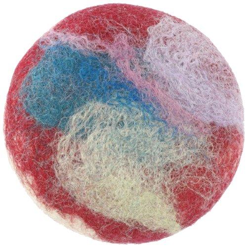 フェルトソープ ラベンダーミント フィアットルークス用石けん fiat Luxe felted soap