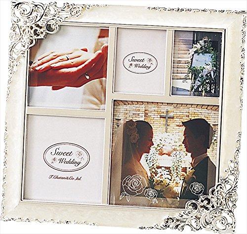 ファミリーフォトフレーム 【ブライダル 結婚 写真立て 思い出 記念 贈り物 インテリア フォト 御祝 お祝い】
