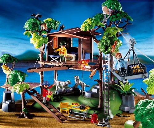 playmobil abenteuer baumhaus 3217 preisvergleich bauernhof g nstig kaufen bei. Black Bedroom Furniture Sets. Home Design Ideas