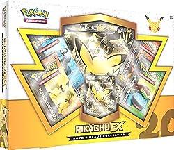 Pokmon Rote & Blaue Kollektion Pikachu-EX Box (Deutsch)Das Jahr 2016 steht ganz im Zeichen von Pokmon, denn es wird das zwanzigjährige Jubiläum gefeiert, u.a. mit zahlreichen Jubiläumsprodukten!So erscheinen von April bis November drei verschiede...