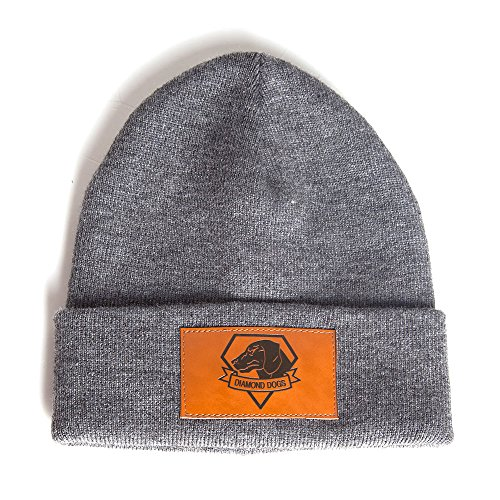 metal-gear-solid-the-phantom-pain-diamond-dogs-brown-patch-logo-folded-brim-beanie-hat-grey-one-size