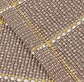 Ustide Checkered Pattern Cotton Carpet for Dinning Room Living Room Solid Area Rug Durable Super Soft Tea Table Floor Mat