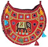 Prajo Women's Sling Bag (NEC-LP-163, Red)