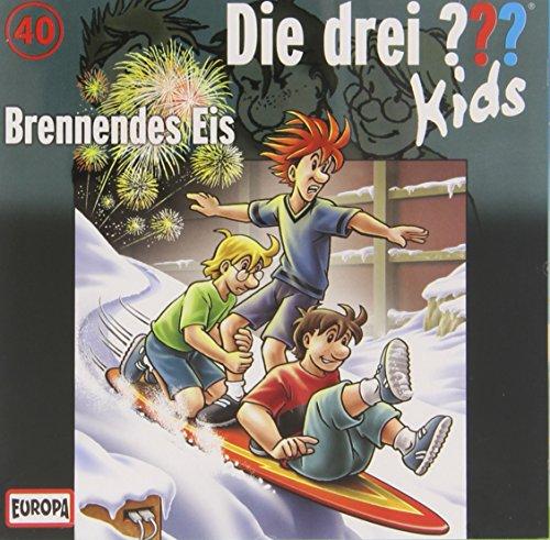 Die drei ??? Kids CD 40 Brennendes Eis [importato dalla Germania]