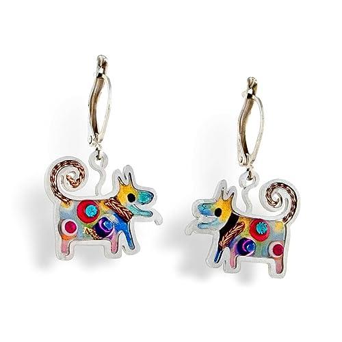Seeka Puppy Dog Earrings E0334