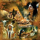 Native American Dreams a 1000-Piece Jigsaw Puzzle by Sunsout Inc.