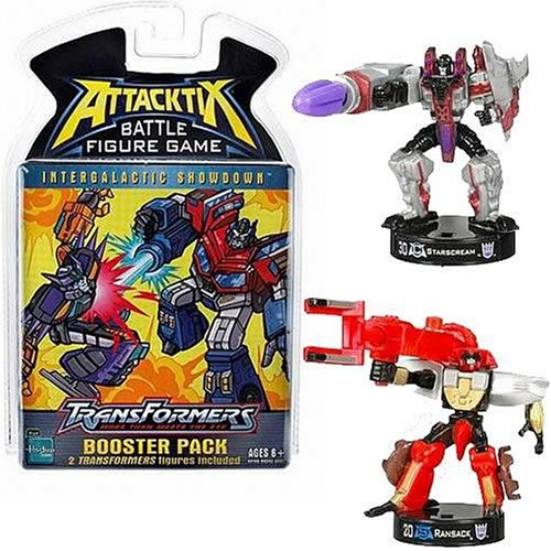 AttackTix Transformers Booster Pack