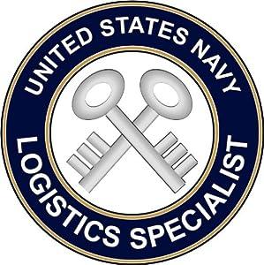 "Amazon.com: US Navy Logistics Specialist 3.8"" Decal ..."