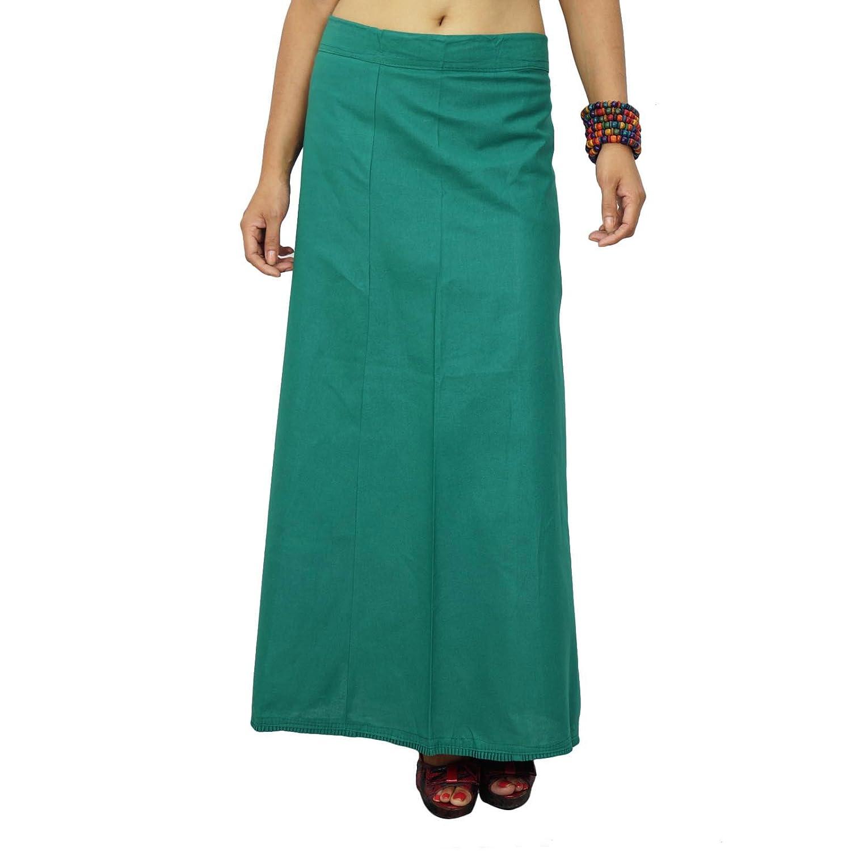 Bollywood Solide Baumwolle PetticoatUnderskirt indischen Futter für Saree online bestellen