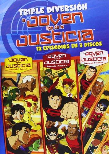 La Joven Liga De La Justicia - Temporada 1 [DVD]