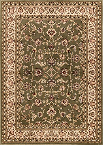 Antique Classic Green 3 11 X 5 3 Area Rug Oriental