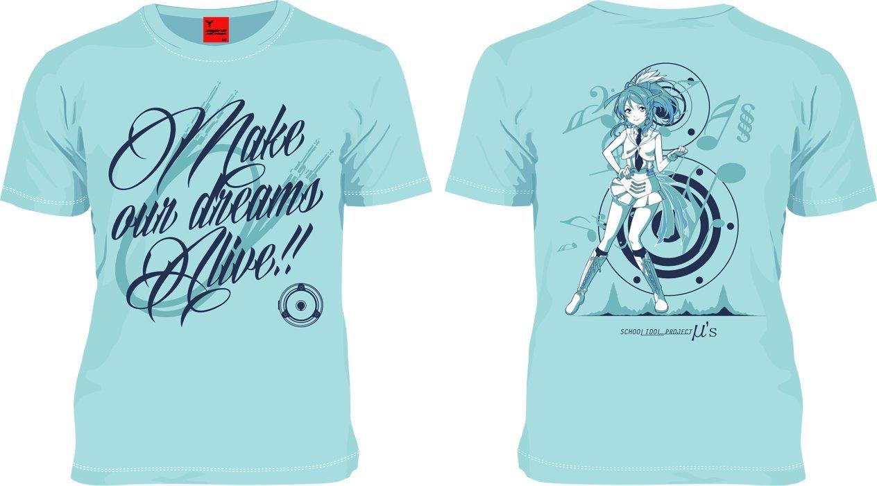 MARS16 絢瀬絵里Tシャツ ライトブルー