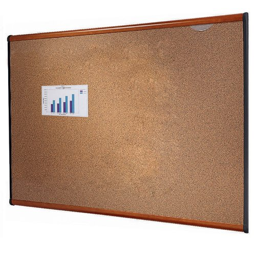 Quartet Prestige Colored Cork Bulletin Boards 4 x 3 Feet Light Cherry Finish Frame B244LCB0000AQO8M