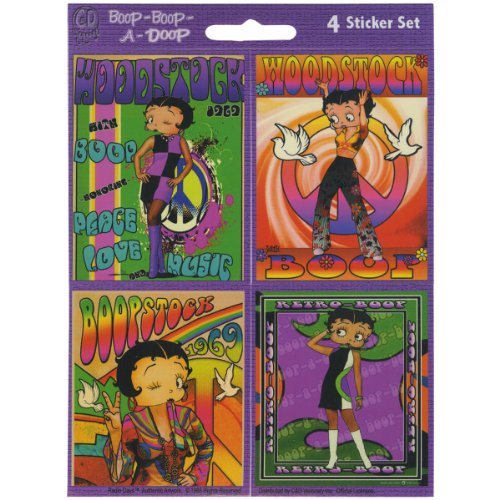Betty Boop Mini Sticker Pack
