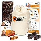 Blackroll Orange (Das Original) DIE Selbstmassagerolle - Komplett-Set STANDARD mit miniBAG