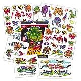 Dinosaur Temporary Tattoos Party Favor Set (Over 50 Temporary Tattoos)