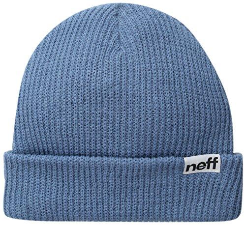 Neff, Cappellino con risvolto, Blu (Gris/bleu), Taglia unica