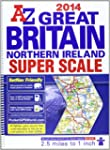 Great Britain Super Scale Road Atlas...