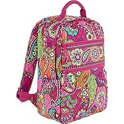 Vera Bradley Tech Backpack (Pink Swirls)
