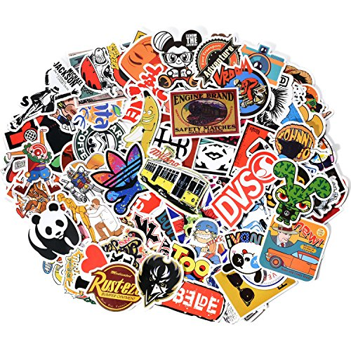 Danslesbls Car Stickers Decals Pack 100 Pieces Bumper Stickers Random Patterns (Macbook Sticker Cool compare prices)