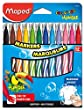 Color\'Peps Jungle Fine Tipped Markers x12 (845448)
