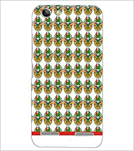 PrintDhaba Pattern D-1542 Back Case Cover for LENOVO A6020a46 (Multi-Coloured)