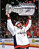 "Alex Ovechkin Washington Capitals 2018 Stanley Cup Champions Autographed 16"" x 20"" Raising Cup Photograph - Fanatics Authentic Certified"