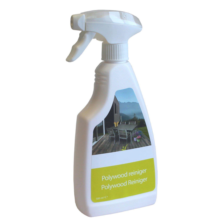 Gartenmöbelreiniger 500ml Sprühflasche Balkonmöbel Gartengarnitur Reiniger für Polywood, Non Wood Kraftreiniger Kunststoffreiniger günstig