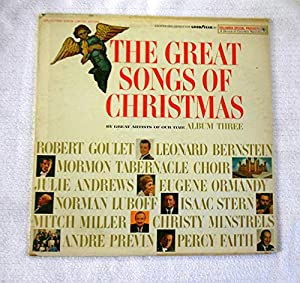 The Great Songs Of Christmas, Album Three